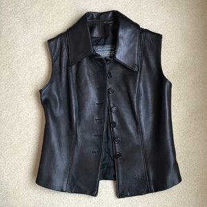 Boutique of Leathers leather vest